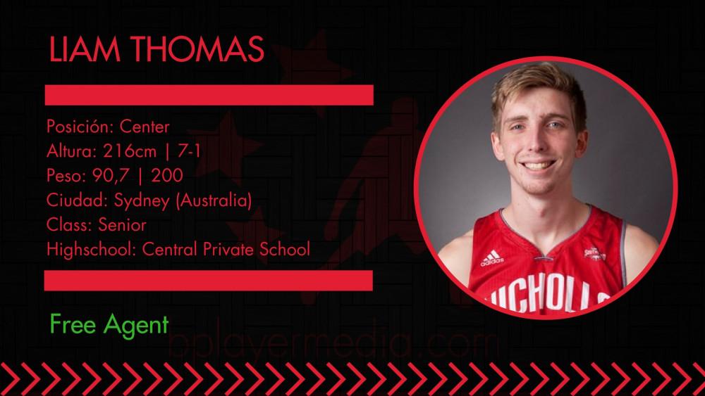 FREE AGENT: Liam Thomas
