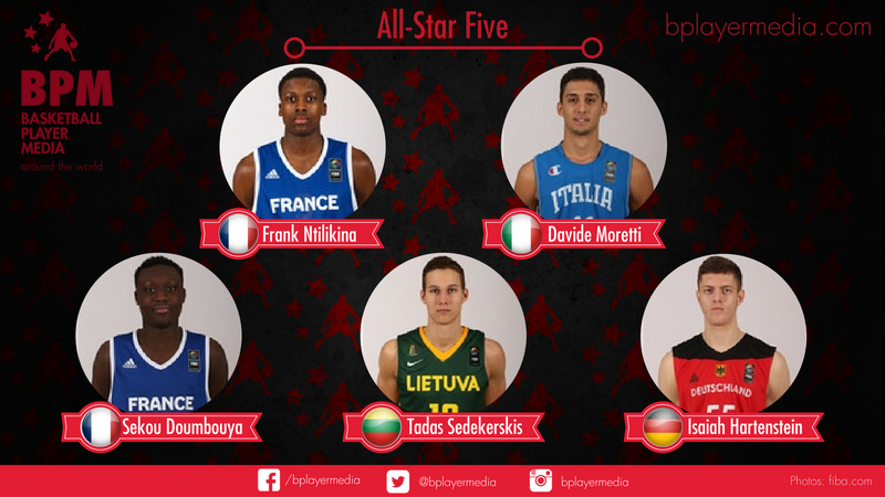 ALL-STAR FIVE FIBA U18 Europe