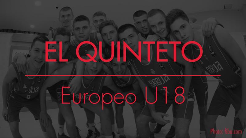 Quinteto a seguir Europeo U18