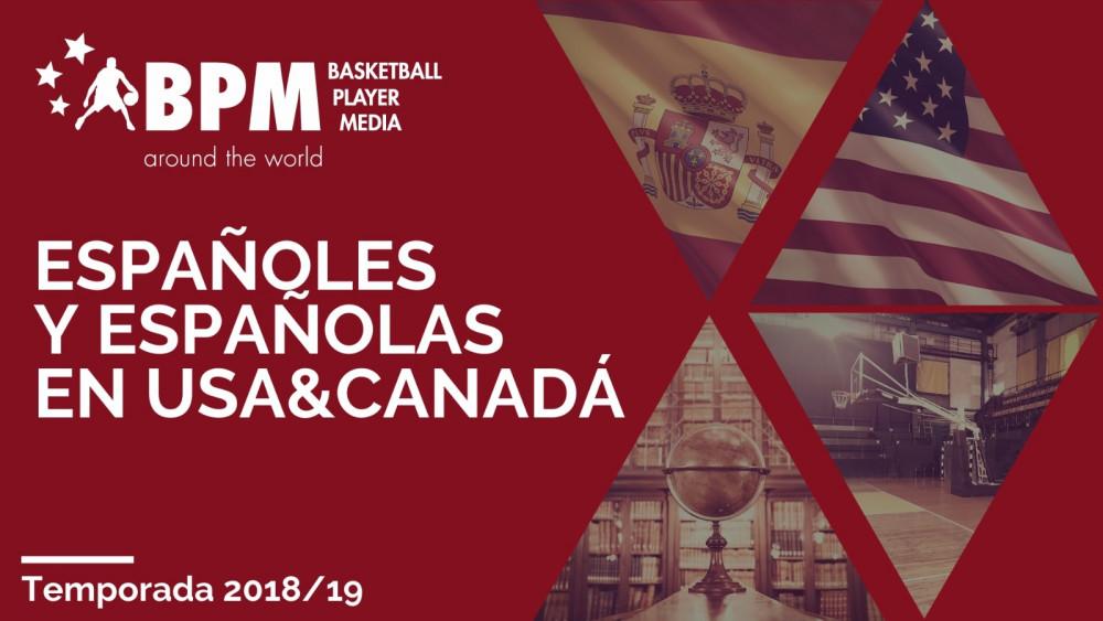 (VIDEO) BPM presenta a varios de nuestros representantes en el baloncesto universitario USA 2018/19