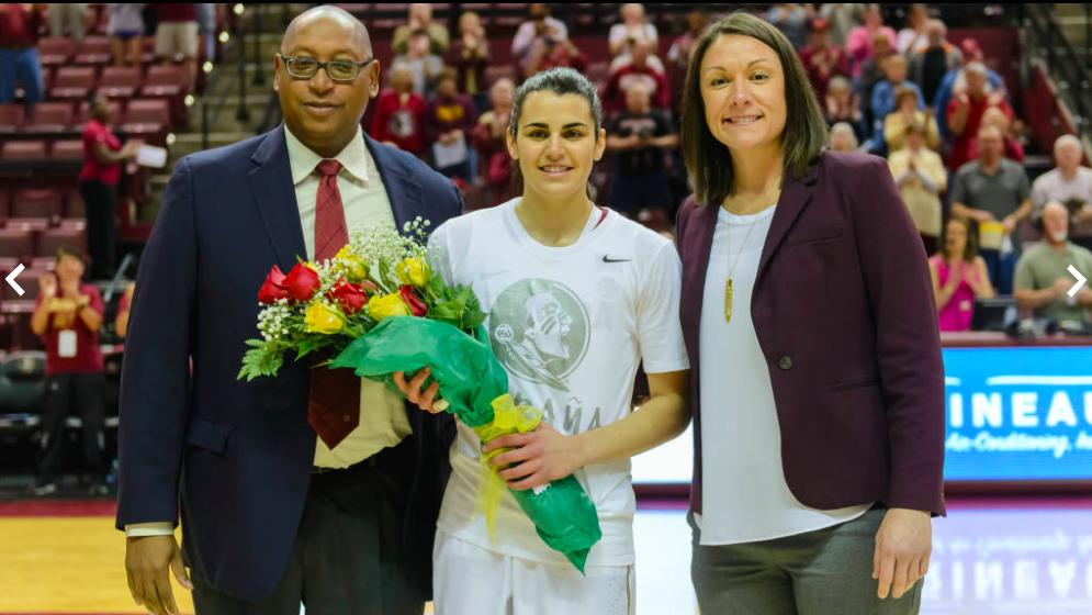 Florida State homenajea a Leti Romero por su medalla olímpica en Río