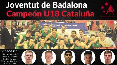 Joventut de Badalona Campeon U18 Cataluña.jpg